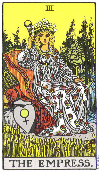 the empress tarot card meaning relationship